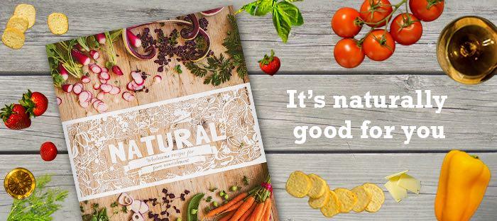 Natural cookbook and food
