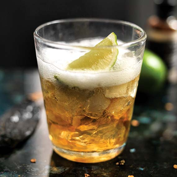 Spicy Gin and Tonic