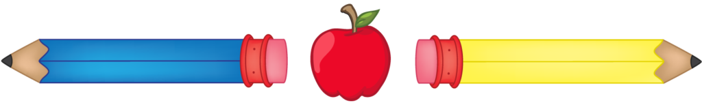 Apple with Pencils
